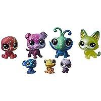 Littlest petshop - Collection Galaxie - 4 minis + 3 teensie petshops n°2