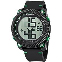 Calypso Reloj Digital para Hombre de Cuarzo con Correa en Plástico K5731/4