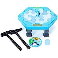 FUNTOK Puzzle Pinguino, Juegos de Mesa de Rompecabezas Cubos de Hielo de Equilibrio Guardar Pinguino ROM pehielos Golpear Interactivo Juegos