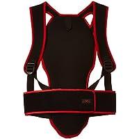 Black Canyon - Protector de espalda para adultos y niños, color negro/rojo - XL