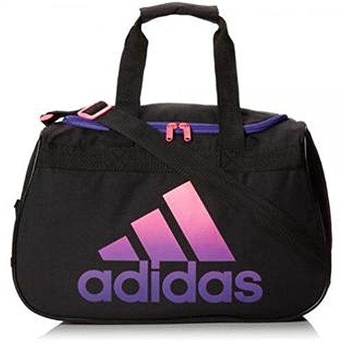 Adidas Diablo Klein Duffle Bag, Black/Solar Pink/Power Purple (schwarz) - 5136910 -