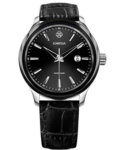 Jowissa Tiro Swiss J4.201.L - Reloj para Hombre, Color Negro y Rosa