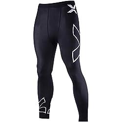 Leggings de Compresión Base Capa Pantalones de Ciclismo para Hombre M