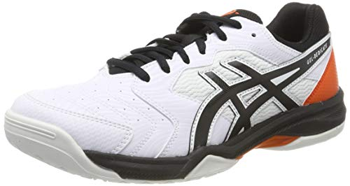 ASICS Gel-Dedicate 6, Scarpe da Tennis Uomo, Multicolore (White/Black 100), 44.5 EU