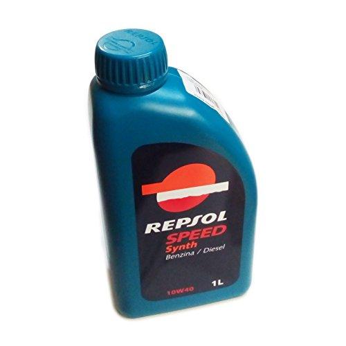 Repsol SPEED SYNTH 10W40 1lt olio lubrificante motore auto semi sintetico benzina e dies