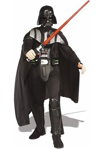 STAR WARS ~ Darth Vader™ Deluxe - Adult Costume Men: STANDARD
