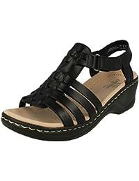 36 Mujer Amazon Zapatos esClarks Para Sandalias wOkiulPZXT