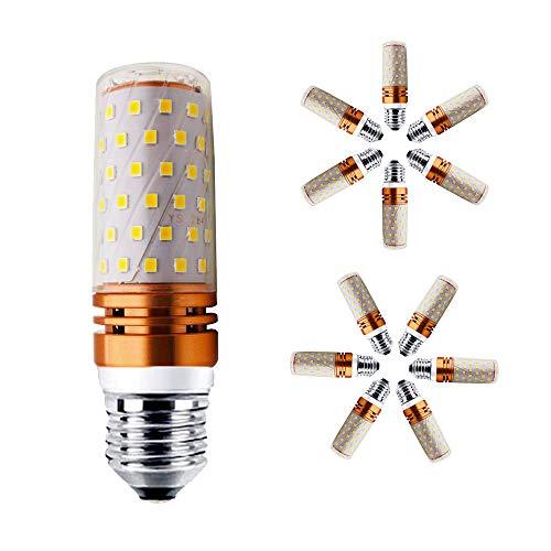 � Licht 3000K LED Lampen Mais Glühbirnen 150W Entspricht Glühbirnen Nicht dimmbar 1500Lm Kleine Edison Kerze Leuchtmittel (12er-Pack) ()