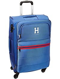 24bd0bf79f Tommy Hilfiger Harvard Polyester 78 cms Royal Blue Soft Sided Suitcase  (8903496086416)