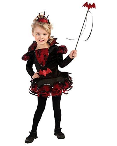 Horror-Shop Fledermaus Ballerina Kostüm (Kostüm Fledermaus Ballerina)