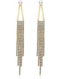 Twinmond Women Jewelry Rose Gold Star Drop Dangle Earrings set For Girls Women Gift Party Wedding lMjC5