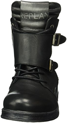 Replay Misey, Bottines non doublées femme Noir - Schwarz (Black 3)