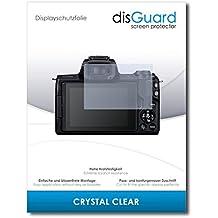 [2 Pezzi] Canon EOS M50 Pellicola Protettiva disGuard® [Crystal Clear] Cristallino, Transparente, Invisibile / Ultra Resistente, Anti-Bolle, Effetto Anti-Impronte, Anti-Graffio / Protezione Schermo, Proteggi Schermo