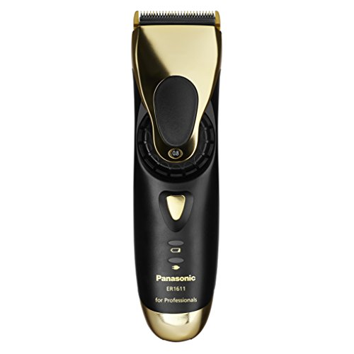 Panasonic ER-1611 - Rasoio professionale Gold Edition, per tagliare barba e capelli in modo professionale