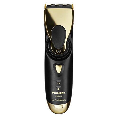 Panasonic ER-1611 Profi-Haarschneidemaschine mit Akku- und Netzbetrieb, gold -