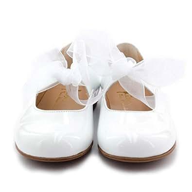 Boni Eva - chaussure bapteme bébé - Blanc - 25