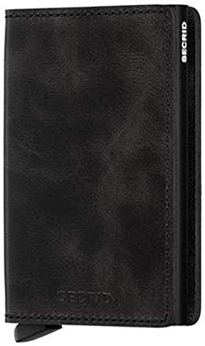 Secrid sv-black slimwallet vintage rfid secured wallet