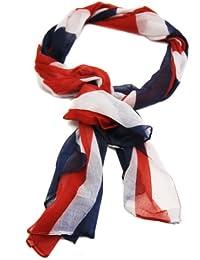 XXL Schal Tuch in Great Britain GB England Union Jack London Flag Peace Flagge Design America Fan Style Halstuch
