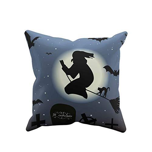 Kissenbezug Ghost Kostüm - Myspace 2019 Neueste Dekoration für Halloween Ghost Kissenbezug Sofa Waist Throw Kissenbezug Home Decor