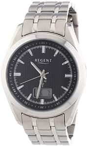 Regent Herren-Armbanduhr XL Analog - Digital Quarz Edelstahl 11030086