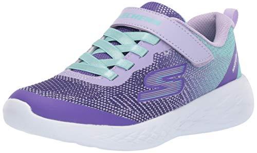 Skechers Kids' Go Run 600 dazzle Strides Sneaker