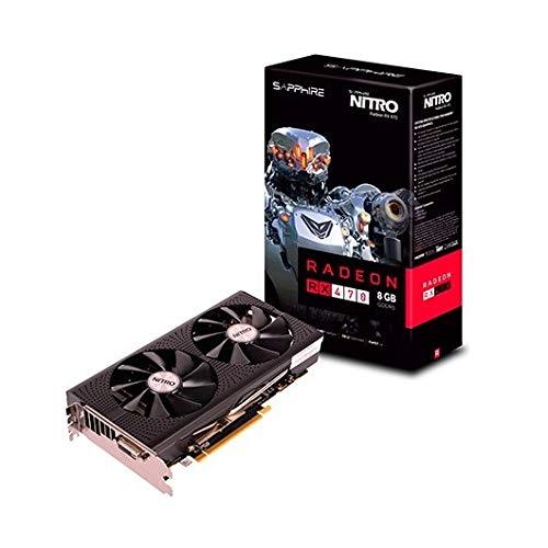 Sapphire RX470 Nitro - Tarjeta gráfica de 8 GB