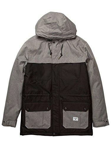 2016 Billabong Alves Contrast Jacket NAVY Z1JK15 Grey Heather