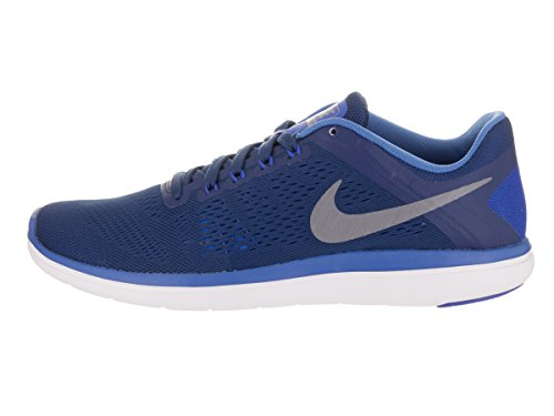 Nike Flex Run, Running Homme, 42 EU COASTAL BLUE/MTLC COOL GREY-STAR BLU