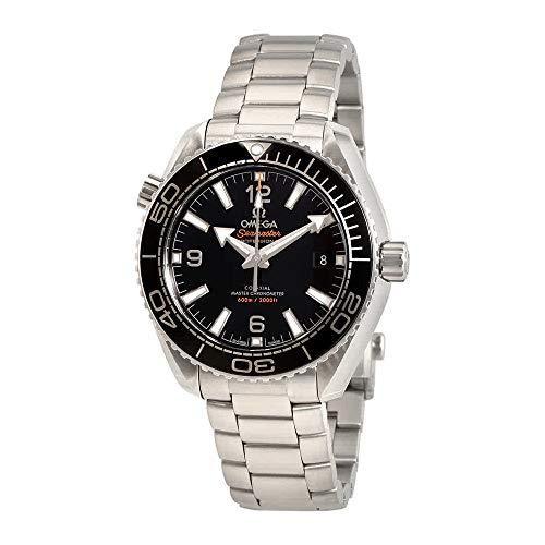 Omega Seamaster Planet Ocean 600m Automatische schwarz Zifferblatt Herren Armbanduhr 215.30.40.20.01.001