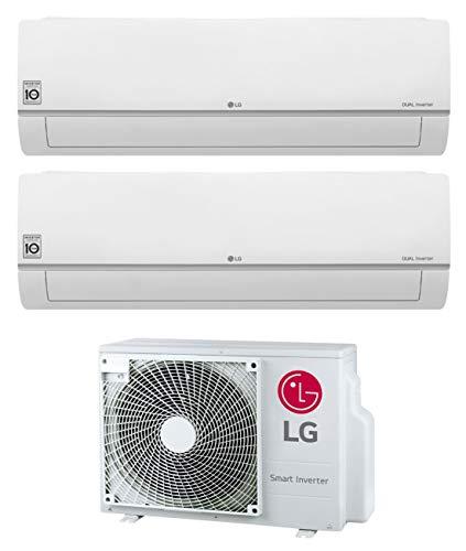 Klimaanlage Dual Split 9000 + 12000 Btu, Inverter, Klasse A++/A+ Gas R32 Wi-Fi MU2R17 UL0 Serie Libero Plus