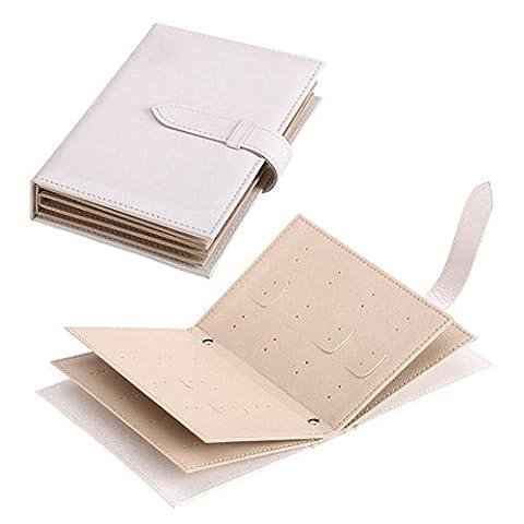 Flapper Robes Fille - WMAOT Livre De Stockage Boucles d'Oreilles Boîte