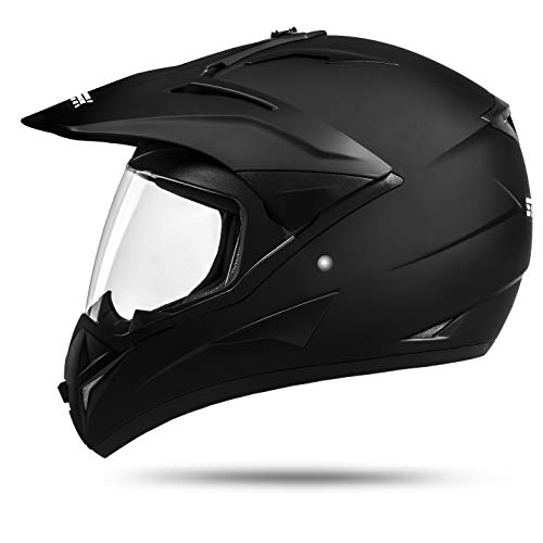 ATO ECE 2205 - Casco 912 GS Country Enduro con visiera per Quad ATV Motocross