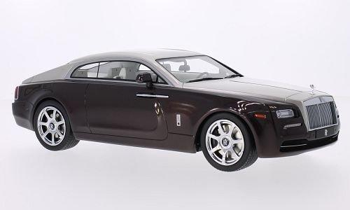 rolls-royce-wraith-metallizzato-dunkelbraun-metallizzato-beige-2015-modellolo-di-automobile-modellol
