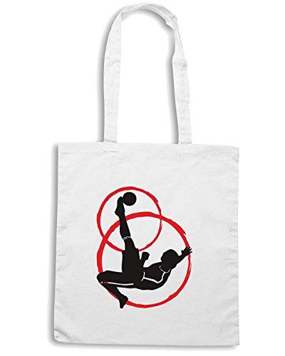 T-Shirtshock - Borsa Shopping WC0560 Soccer Bianco