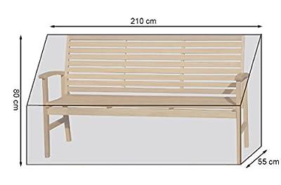 Gartenbankhülle Länge 200 cm von Grasekamp bei Gartenmöbel von Du und Dein Garten