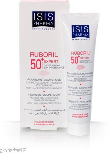 Isis Pharma France Ruboril Expert Spf50+ Tinted Rosacea Trust Quality by TRUSTSHOP