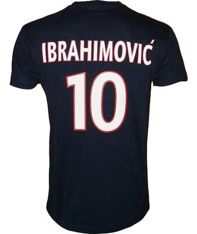 T-shirt - Zlatan IBRAHIMOVIC - N°10 - Collection officielle - PARIS SAINT GERMAIN - PSG - Football club Ligue 1 - Tee shirt adulte