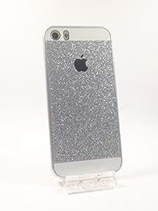 Coque arrière strass paillette - Iphone 5C - Argent