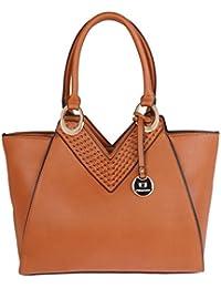 Fur Jaden Tan Ladies Handbag For Woman