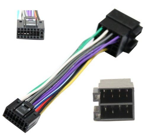 Preisvergleich Produktbild Aerzetix - H2 ISO-Konverter - Adapter - Kabel Radioadapter Radio Kabel Stecker ISO-Kabel Verbindungskabel für KENWOOD KDC 307A 3080 3090 358DAB 4040 4050 4050LG 4060 KRC 150 N 151 151 L 151 LA 151LG 152 LG 156