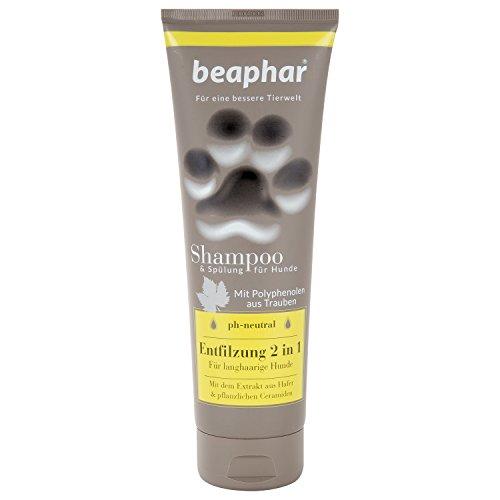 Premium Shampoo Entfilzung 2 in 1 für Hunde | Hundefell entfilzen | Für langhaarige Hunde | pH neutral | Entfilzung ohne Schermaschine | 250 ml