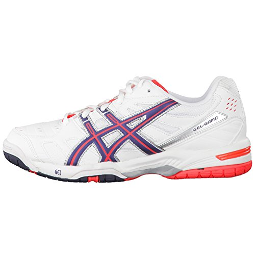 ASICS - TENNIS - GEL GAME 4 WOMEN'S WHITE/ECLIPSE/DIVA PINK