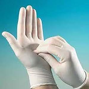 Santex 2000 Internacional Lot de 100 gants poudrés jetables en latex