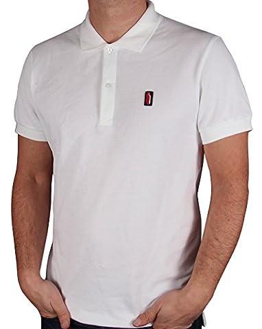 Ellesse Penguin Polo Shirt White