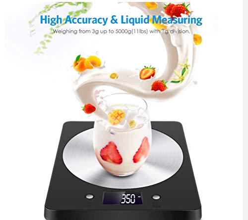 Chunqing Amir Digital Küchenwaage Elektronische Slim Food Waage Mit LCD-Monitor Home Küche Schmuck Edelstahlwaage