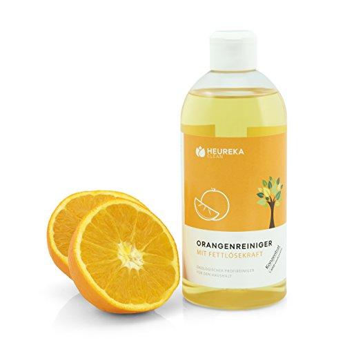 Profi Orangenreiniger Konzentrat von Heureka® Clean | 500ml | Ideal als Allzweckreiniger für den gesamten Haushalt