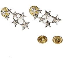Aleacion Par Victoria Boho De 7 Estrellas De Navidad Boda Pin Collar Broche De Plata Regalo