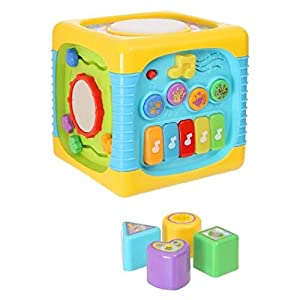 winfun 0741-NL Richmond Toys Music Divertido Cubo de Actividades, Multicolor