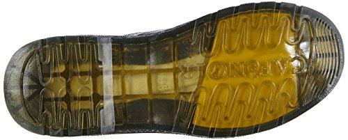CAFèNOIR Rubber-soled-boots, Stivaletti a gamba corta mod. Classics, senza imbottitura donna Multicolore (Mehrfarbig (131 NERO-GRIGIO))