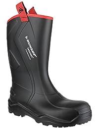 Dunlop Herren Sicherheitsgummistiefel / Gummistiefel Purofort+ Rugged